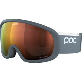 POC Fovea Mid Clarity Goggles, pegasi grey/spektris orange